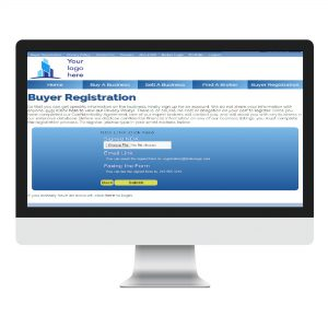 front end buyer registration