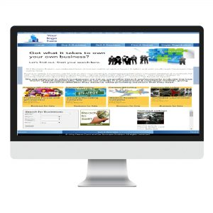 front end main page